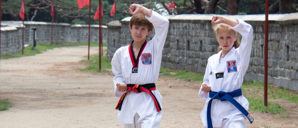 Taekwondoutøvere fra Drammen